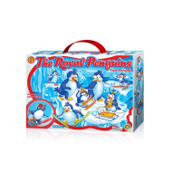 Set creatie pentru modelaj Orange Elephant, Royal Penguins