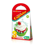 Set creatie pentru modelaj Orange Elephant, Cherry cupcake