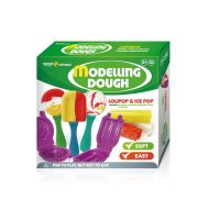 Set creatie pentru modelaj Orange Elephant, Ice Pop