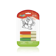 Set creatie pentru pictura Orange Elephant, Bear