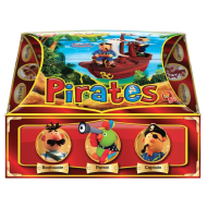 Set creatie pentru modelaj Orange Elephant, Pirates